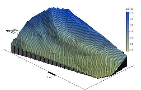 Tiefe Geothermie Gravimetrie Oberrheintalgraben