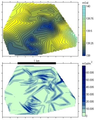 Gravimetrie Tektonik Strukturgeologie