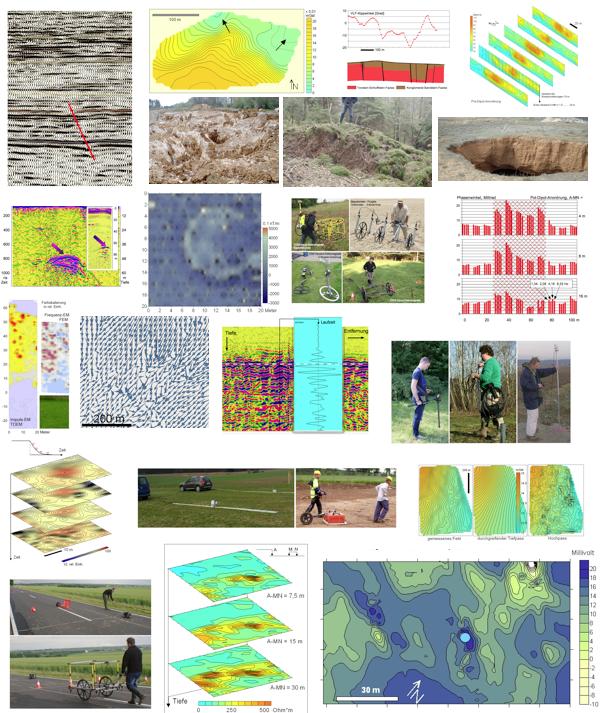 Geophysik Anwendung Geologie Messsysteme Messverfahren