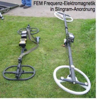 Ebinger Frequenz-Elektromagnetik FEM Slingram Ein-Personen-Geräte