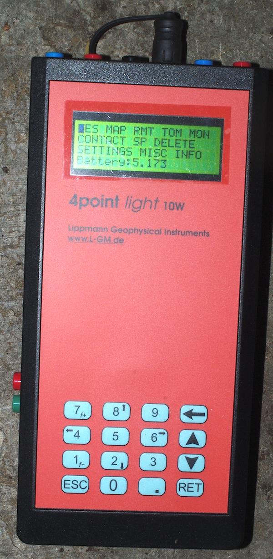 Lippmann Messgerät Geoelektrik