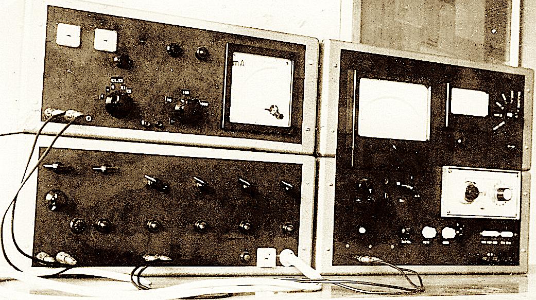 historisch: Geoelektrik-Apparatur 1969